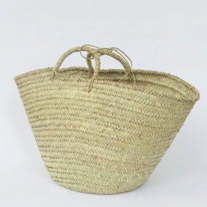 handgemachter Korb 'Ibiza look' - Palmblatt natur geflochten-4267