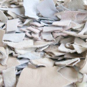 handgeknüpfter Lederfransen Teppich - Marokko-2621