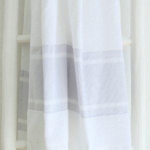 Badetuch und Handtuch leichter Baumwoll-Frottee Qualität-4273
