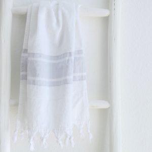 Badetuch und Handtuch leichter Baumwoll-Frottee Qualität-4274