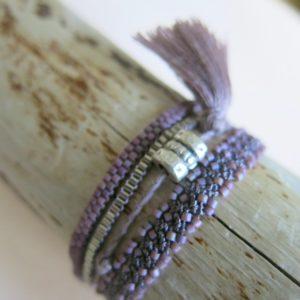 Häkel-Armband in verschiedenen Farben-823