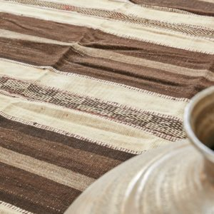 marokkanischer Teppich 'Sanafi' - mocca-caramel-3262