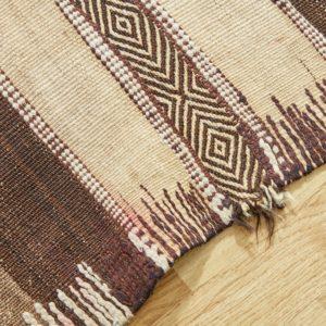 marokkanischer Teppich 'Sanafi' - mocca-caramel-3265