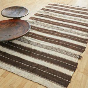 marokkanischer Teppich 'Sanafi' - mocca-creme-3273