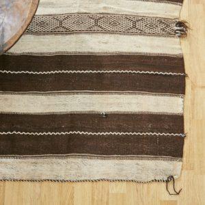 marokkanischer Teppich 'Sanafi' - mocca-creme-0
