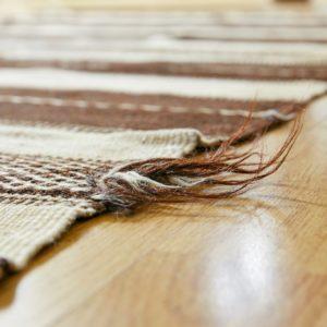 marokkanischer Teppich 'Sanafi' - mocca-creme-3274