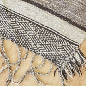 marokkanischer Teppich 'Sanafi' - grau-taupe-3281