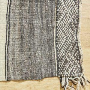 marokkanischer Teppich 'Sanafi' - grau-taupe-3282