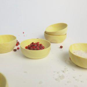 Mini Holzschälchen aus Zitronenholz-3960