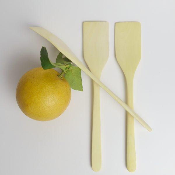 Pfannenwender aus Zitronenholz-0