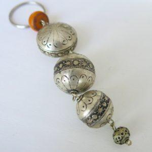 silberner Schlüsselanhänger aus Maillechort Silber-1693