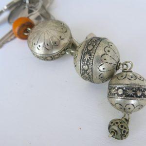 silberner Schlüsselanhänger aus Maillechort Silber-1692