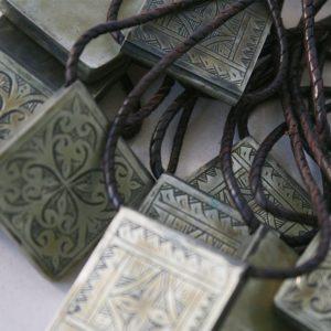 Schlüsselanhänger mit dekorativer Gravur-0