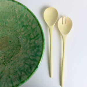 Salatbesteck aus Zitronenholz-3823