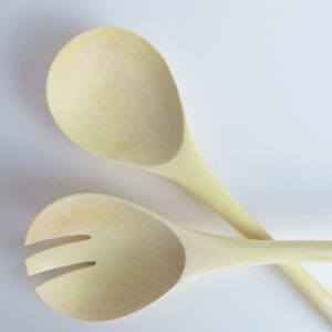 Salatbesteck aus Zitronenholz-3822