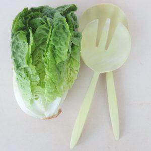 Holz-Salatbesteck aus Zitronenholz-0