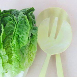 Holz-Salatbesteck aus Zitronenholz-384