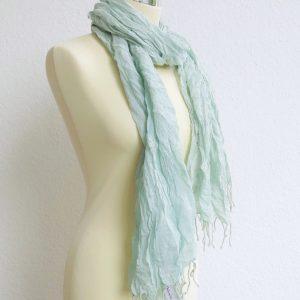 feiner sommerlicher Schal 'crincle look'-1439