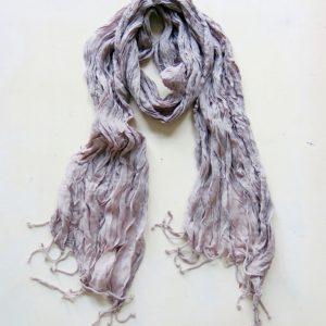 feiner sommerlicher Schal 'crincle look'-0
