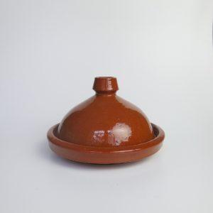 Tajine aus Ton - abgerundeter Deckel-4212