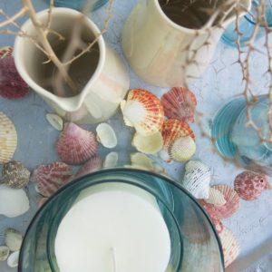 Vase in verschiedenen Größen aus mundgeblasenem Glas-1024
