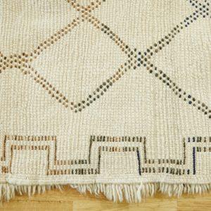 vintage 'Beni Ourain' Teppich - Unikat Marokko-3018