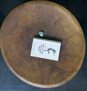 echt-vintage Couscoussiere-Tisch Berber-4233