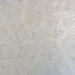 echt-vintage Aluminium Tablett - 'Talawat'-4392