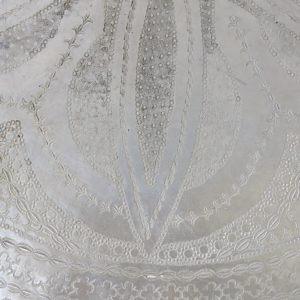 echt-vintage Aluminium Tablett - 'Zahira-4435