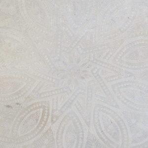 echt-vintage Aluminium Tablett - 'Zinah'-4401