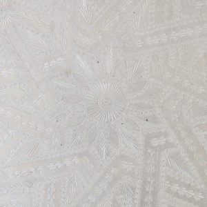 echt-vintage Aluminium Tablett - 'Zinah'-4403